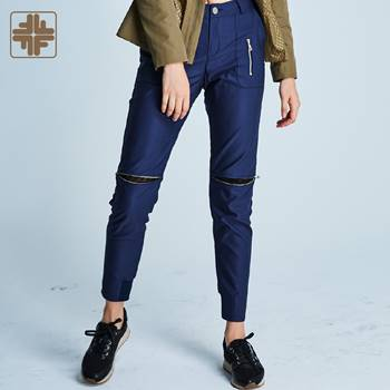 OEM ODM Athletic Female Ladies Navy Trousers Pants Manufacturer